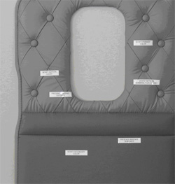 Upholstered panels