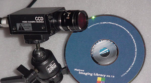 Machine vision camera and Matrox software
