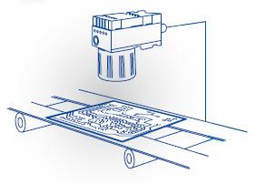 Illustration of smart camera in use