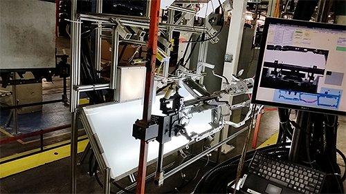 Poka Yoke system for automotive frame
