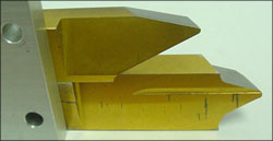 Typical cutting blades