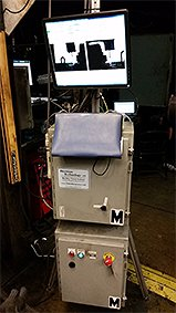 Vision guided axle welding - equipment stand
